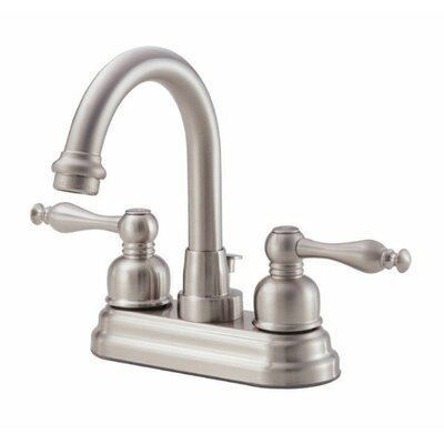 Sheridan Double Handle Centerset Bathroom Faucet Finish: Brushed Nickel