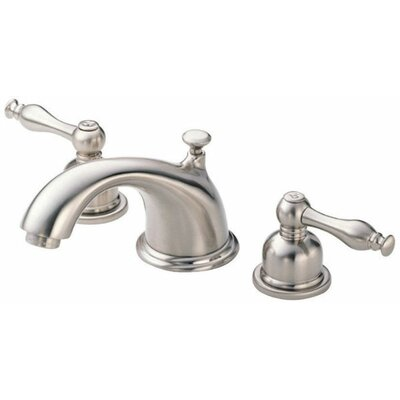 Sheridan Double Handle Mini Widespread Bathroom Faucet Finish: Brushed Nickel