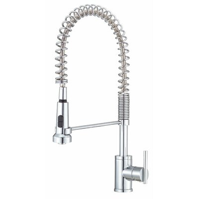 Parma Hot & Cold Water Dispenser with Swivel Spout Finish: Chrome