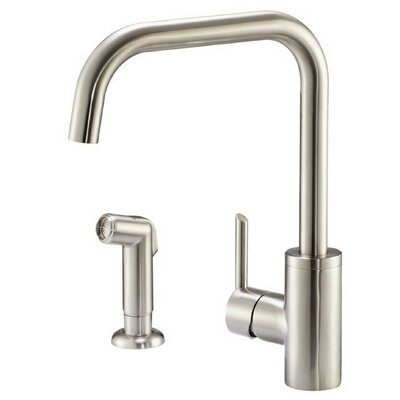 Trace Single Handle Kitchen Faucet with Water Filter