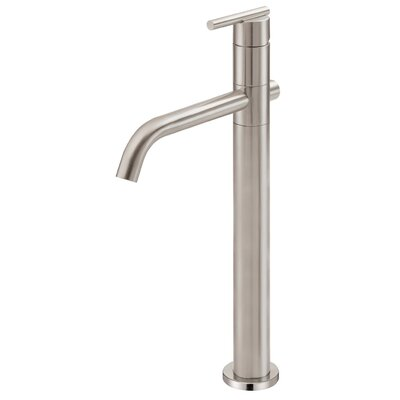 Parma Single Handle Single Hole Bathroom Faucet Finish: Brushed Nickel