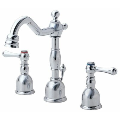 Opulence Double Handle Mini Widespread Bathroom Faucet Finish: Chrome