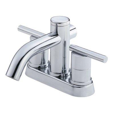 Parma Double Handle Centerset Bathroom Faucet Finish: Chrome