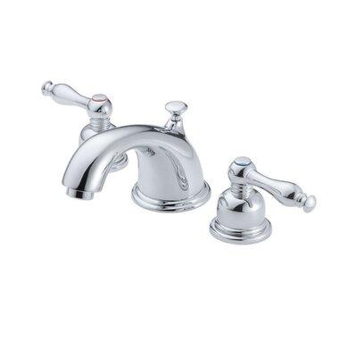 Sheridan Double Handle Mini Widespread Bathroom Faucet Finish: Chrome
