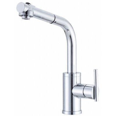 Parma Single Handle Deck Mounted Kitchen Faucet Finish: Chrome