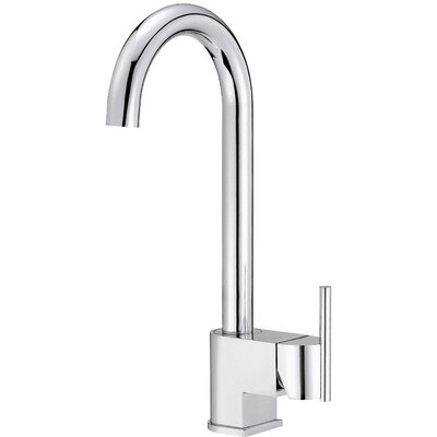 Como Single Handle Deck Mounted Bar Faucet Finish: Chrome