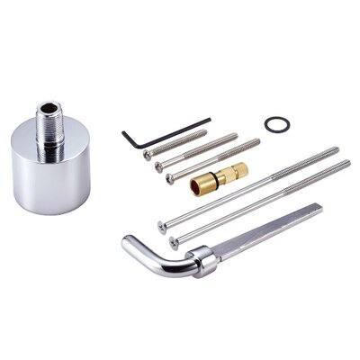 Extension Kit for Ceramic Mixing Valve Finish: Chrome