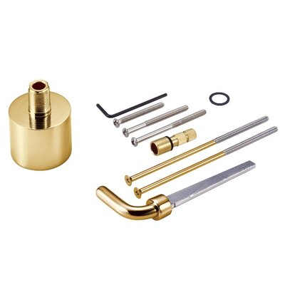 Extension Kit for Ceramic Mixing Valve Finish: Polished Brass