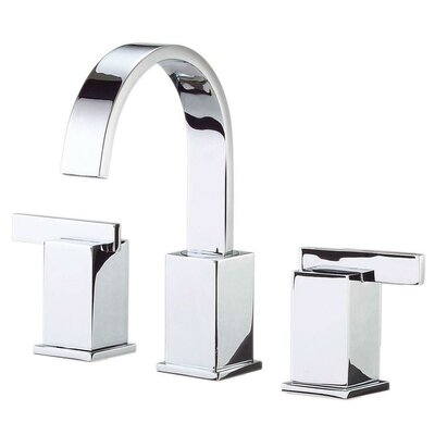 Sirius Double Handle Mini Widespread Bathroom Faucet Finish: Polished Chrome