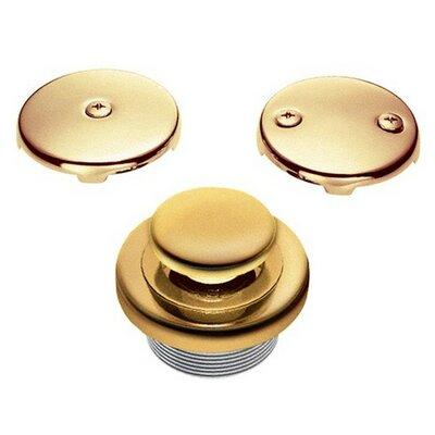 Accessories 1.5 Touch-Toe Tub Drain Conversion Unit Finish: Tumbled Bronze