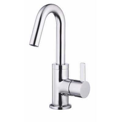 Amalfi Single Handle Single Hole Bathroom Faucet Finish: Chrome