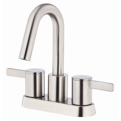 Amalfi Double Handle Centerset Bathroom Faucet Finish: Brushed Nickel