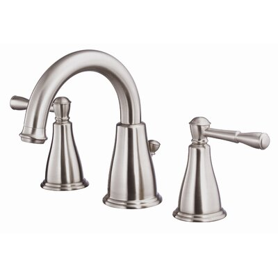 Eastham Double Handle Widespread Bathroom Faucet Finish: Brushed Nickel