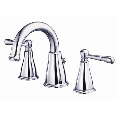 Eastham Double Handle Widespread Bathroom Faucet Finish: Chrome