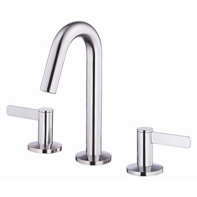 Amalfi Double Handle Mini Widespread Bathroom Faucet Finish: Chrome