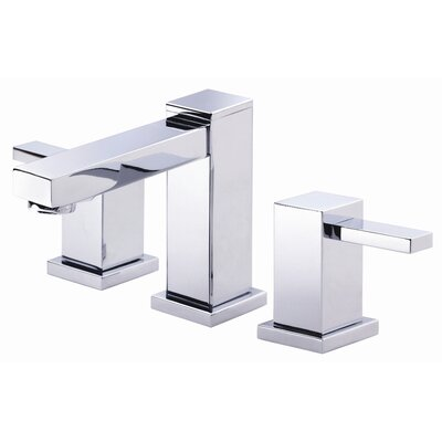 Reef Double Handle Mini Widespread Bathroom Faucet Finish: Chrome