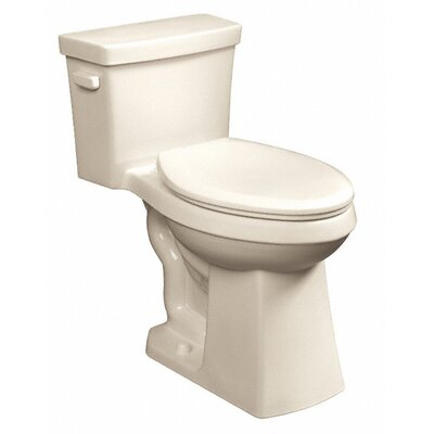 Cobalt 1.28 GPF Elongated One-Piece Toilet Finish: Biscuit
