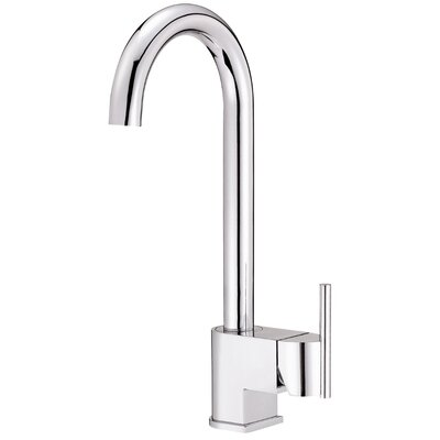 Como Single Handle Deck Mount Bar Faucet Finish: Chrome