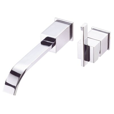 Sirius Single Handle Wall Mount Vessel Faucet Finish: Brushed Nickel