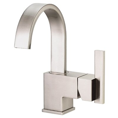 Sirius Single Handle Single Hole Bathroom Faucet Finish: Brushed Nickel