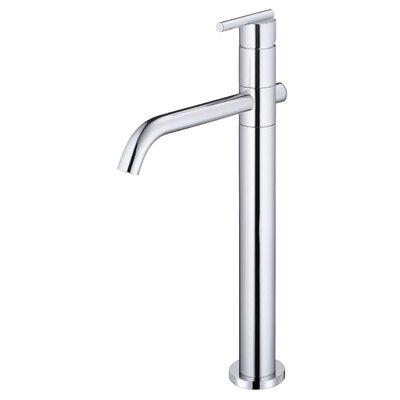 Parma Single Handle Single Hole Bathroom Faucet Finish: Chrome