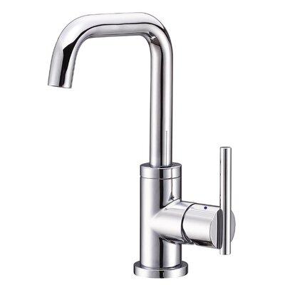 Parma Single Handle Single Hole Bathroom Faucet with Swivel Spout Finish: Chrome