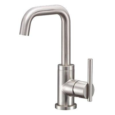 Parma Single Handle Single Hole Bathroom Faucet Finish: Brushed Nickel