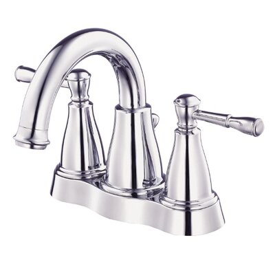 Eastham Double Handle Centerset Bathroom Faucet Finish: Chrome