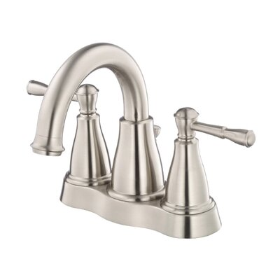 Eastham Double Handle Centerset Bathroom Faucet Finish: Brushed Nickel