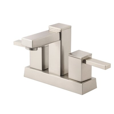 Reef Double Handle Centerset Bathroom Faucet Finish: Brushed Nickel