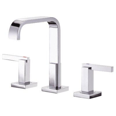 Sirius Double Handle Mini Widespread Bathroom Faucet Finish: Chrome