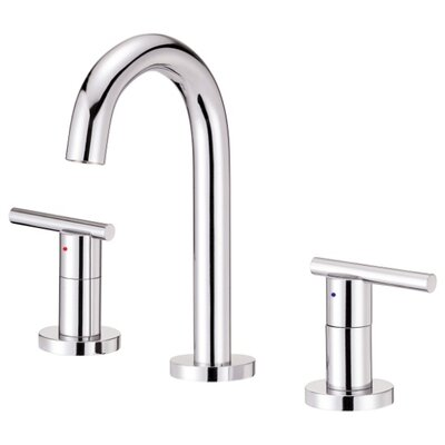 Parma Double Handle Widespread Bathroom Faucet Finish: Chrome