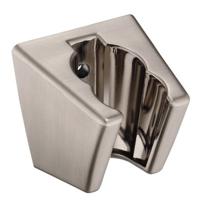 2 Position Wall Mount Bracket Finish: Brushed Nickel