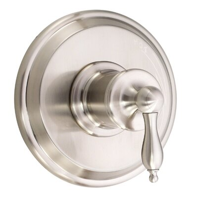 Prince Dual Function Shower Faucet Trim Finish: Brushed Nickel