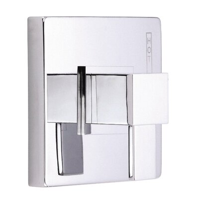 Reef Pressure Balance Shower Faucet Trim Finish: Chrome