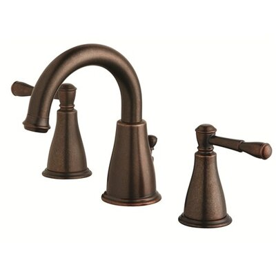 Eastham Double Handle Widespread Bathroom Faucet Finish: Tumbled Bronze