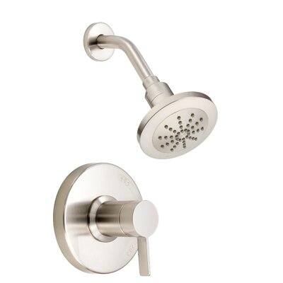 Amalfi Volume Pressure Balance Shower Faucet Trim Finish: Brushed Nickel