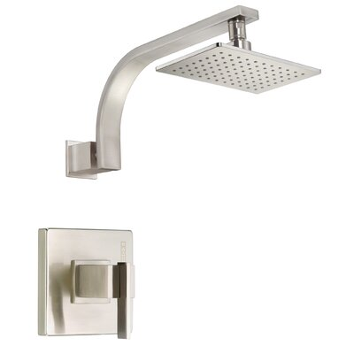 Sirius Volume Tub and Shower Faucet Trim Finish: Brushed Nickel
