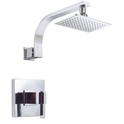 Sirius Volume Tub and Shower Faucet Trim Finish: Polished Chrome