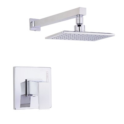Mid-Town Volume Pressue Balanced Shower Faucet Trim with Lever Handle Finish: Polished Chrome
