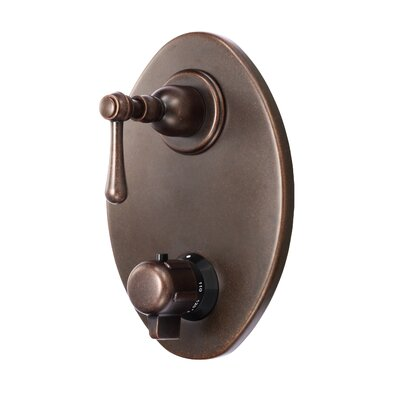 Opulence Thermostatic Shower Faucet Trim Finish: Tumbled Bronze