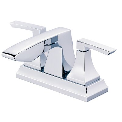 Logan Square Double Handle Centerset Bathroom Faucet Finish: Polished Chrome