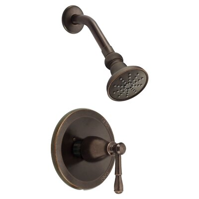 Eastham Volume Shower Faucet Trim Finish: Tumbled Bronze