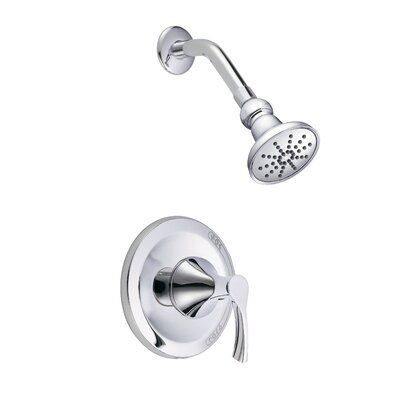 Antioch Pressure Balanced Single Function Shower Faucet Trim Finish: Polished Chrome