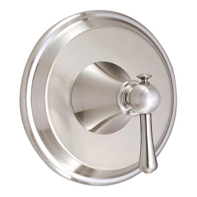Cape Anne Valve Lever Handle Trim Finish: Brushed Nickel
