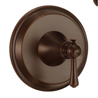 Cape Anne Valve Lever Handle Trim Finish: Tumbled Bronze