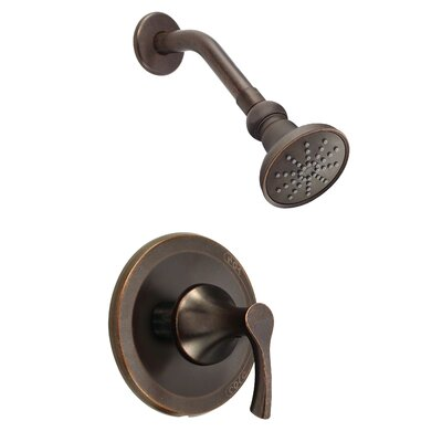 Antioch Pressure Balanced Single Function Shower Faucet Trim Finish: Tumbled Bronze