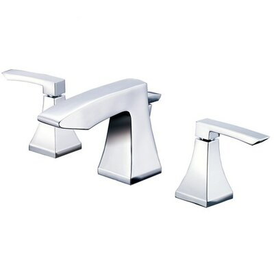 Logan Square Double Handle Widespread Bathroom Faucet with Pop-Up Drain Finish: Polished Chrome