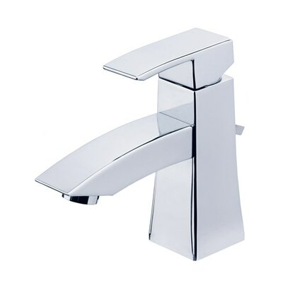 Logan Square Single Handle Single Hole Bathroom Faucet with Pop-Up Drain Finish: Polished Chrome