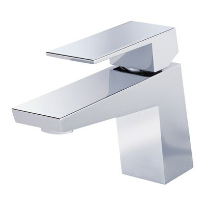 Mid-Town Single Handle Single Hole Bathroom Faucet Finish: Polished Chrome